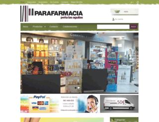 parafarmacialasaguilas.com screenshot