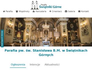 parafia-swiatniki.cal.pl screenshot
