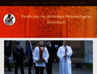 parafia.stawiski.pl screenshot