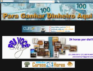 paraganhardinheiroaqui.blogspot.com.br screenshot