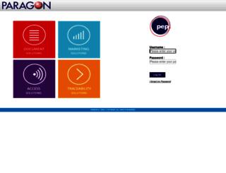 paragon-ebiz.com screenshot