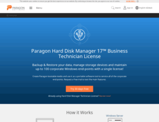 paragon-software.com screenshot