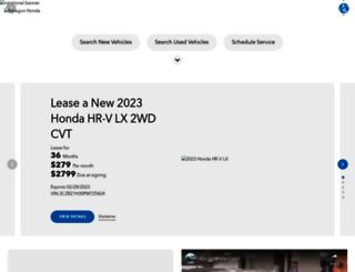 paragonhondaoffers.com screenshot