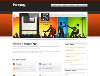 paragoni.com screenshot