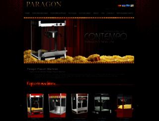 paragonpop.com screenshot