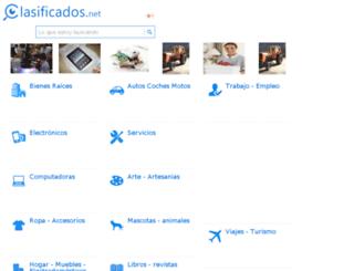paraguay.clasificados.net screenshot
