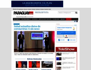 paraguay.com screenshot