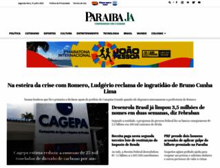 paraibaja.com.br screenshot