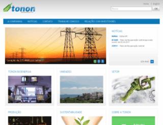 paraisobioenergia.com.br screenshot