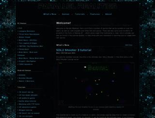parallelrealities.co.uk screenshot