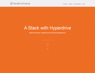 paralleluniverse.co screenshot