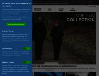 paramo-clothing.com screenshot