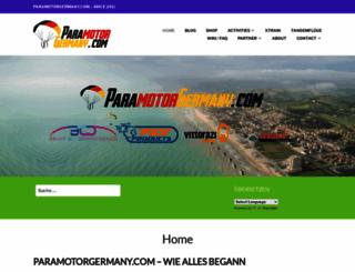 paramotorgermany.com screenshot