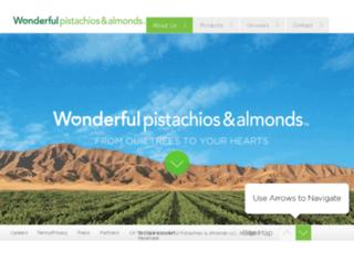 paramountfarms.com screenshot