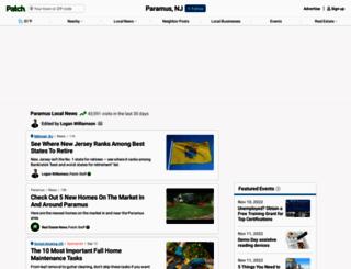 paramus.patch.com screenshot