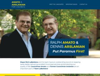 paramusfirst.nationbuilder.com screenshot