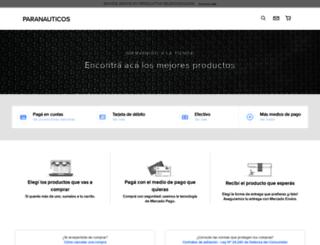 paranauticos.mercadoshops.com.ar screenshot