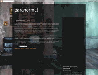 paranormale-beobachtungen.blogspot.com screenshot