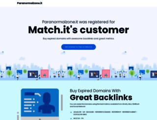 paranormalzone.it screenshot