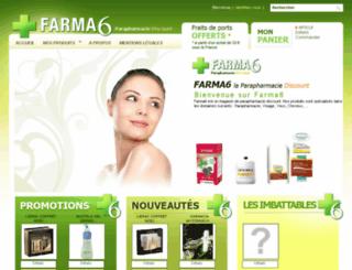 parapharmacie-farma6.com screenshot