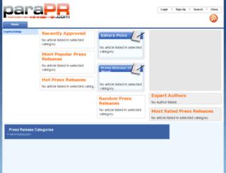 parapr.com screenshot