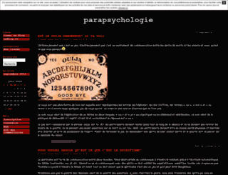 parapsychologieme.unblog.fr screenshot