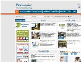 parasordos.com screenshot