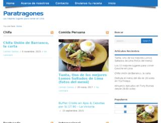 paratragones.com screenshot