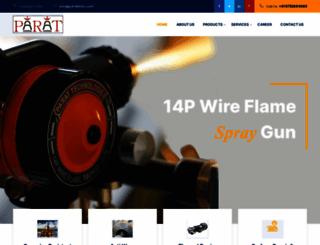 parattech.com screenshot