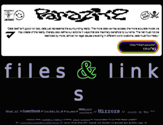 parazite.nn.fi screenshot