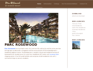 parc-rosewood.com screenshot