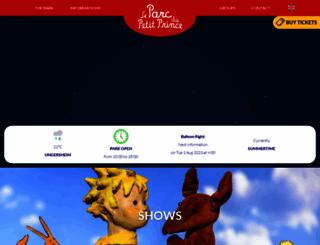 parcdupetitprince.com screenshot