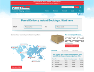 parcel-link.co.uk screenshot