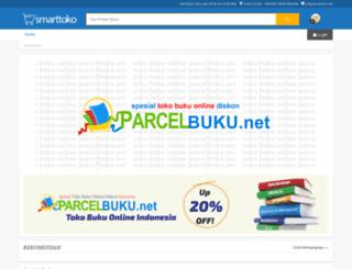 parcelbuku.net screenshot