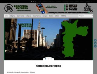 parceriaexpress.com.br screenshot
