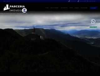parceriasimoveis.com.br screenshot
