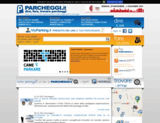 parcheggi.it screenshot