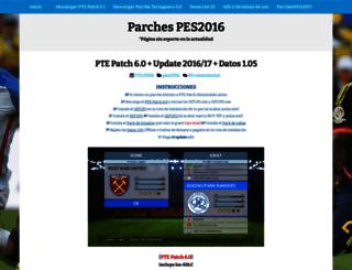 parchespes2016.blogspot.com screenshot