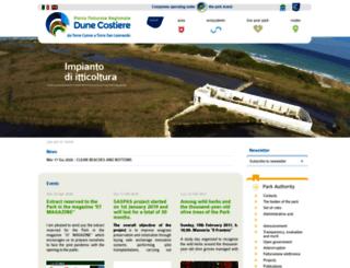 parcodunecostiere.org screenshot