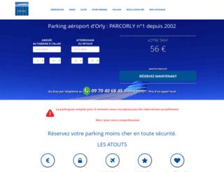 parcorly.fr screenshot