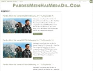 pardesmeinhaimeradil.com screenshot