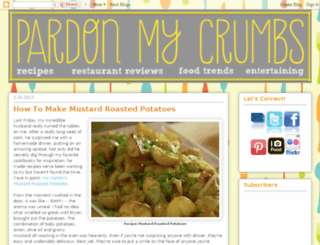 pardonmycrumbs.blogspot.com screenshot