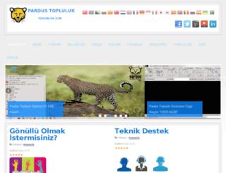 pardus.net.tr screenshot