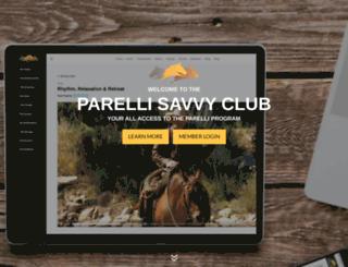 parellisavvyclub.com screenshot