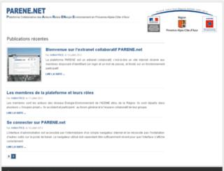 parene.net screenshot