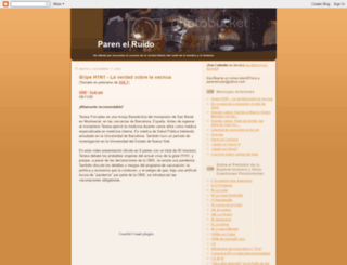parenelruido.blogspot.com screenshot