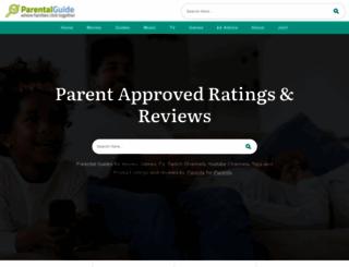 parentalguide.org screenshot