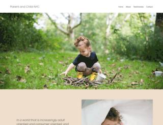 parentandchildnyc.org screenshot