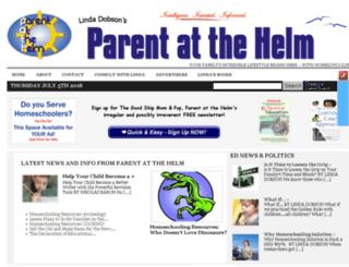 parentatthehelm.com screenshot