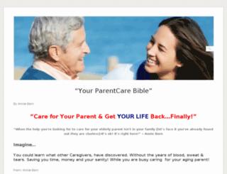 parentcarebible.com screenshot
